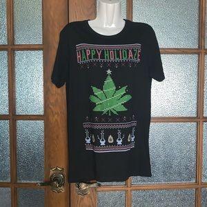 XMAS Stoner Shirt - Sz Sm